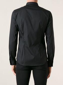Рубашка С Пуговицами-Шипами Diesel                                                                                                              чёрный цвет