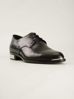 Туфли-Дерби С Металлической Окантовкой Diesel Black Gold                                                                                                              черный цвет