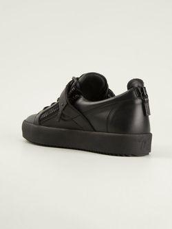 Кеды May London Giuseppe Zanotti Design                                                                                                              черный цвет