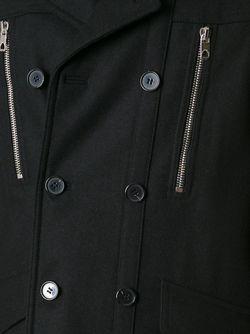 Двубортное Полупальто Diesel Black Gold                                                                                                              чёрный цвет