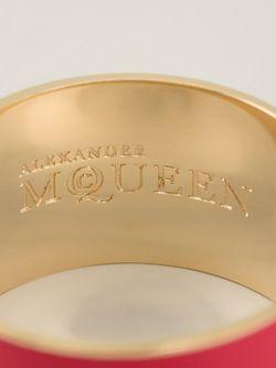 Браслет С Принтом Логотипа Alexander McQueen                                                                                                              розовый цвет