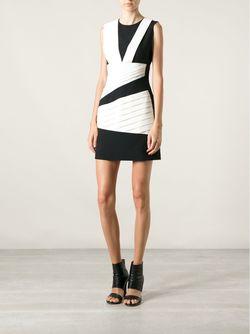 Платье С Контрастной Отделкой Emanuel Ungaro                                                                                                              белый цвет