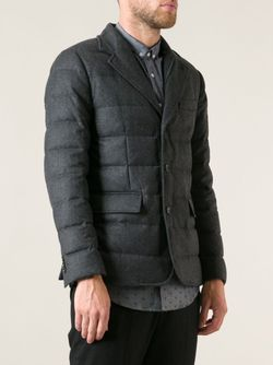 Блейзер-Пуховик Rodin Moncler                                                                                                              серый цвет