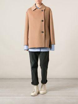 Двубортное Пальто Sofie D'Hoore                                                                                                              Nude & Neutrals цвет