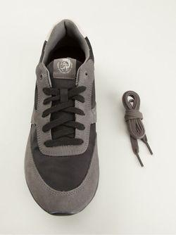Кроссовки С Панельным Дизайном Diesel                                                                                                              серый цвет