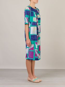 Платье Шифт С Абстрактным Принтом FERNANDA YAMAMOTO                                                                                                              многоцветный цвет