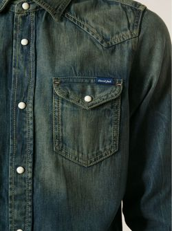 Рубашка New-Sonora Diesel                                                                                                              синий цвет