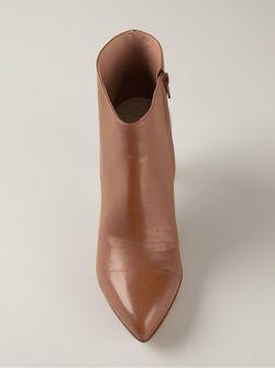 Ботинки На Шпильке Maison Margiela                                                                                                              коричневый цвет