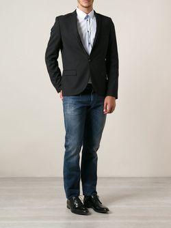 Прямые Джинсы Dolce & Gabbana                                                                                                              синий цвет