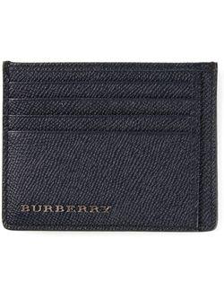 Классическая Визитница Burberry                                                                                                              синий цвет