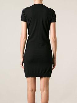 Платье-Кардиган Dsquared2                                                                                                              чёрный цвет