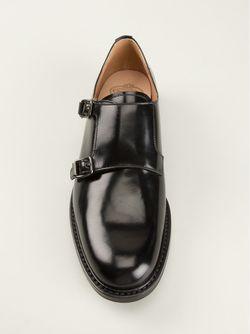 Monk Double Strap Shoes Church'S                                                                                                              чёрный цвет