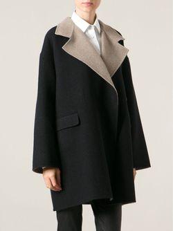 Свободное Короткое Пальто Etro                                                                                                              черный цвет