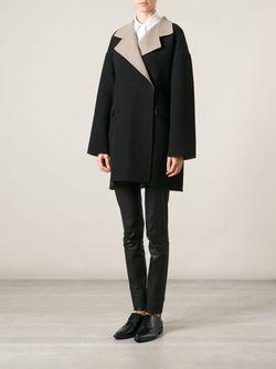 Свободное Короткое Пальто Etro                                                                                                              чёрный цвет