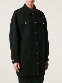 Пальто Бойфернда Moschino                                                                                                              чёрный цвет