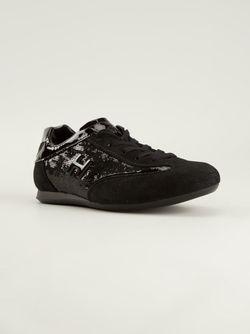 Кроссовки С Пайетками Hogan                                                                                                              чёрный цвет