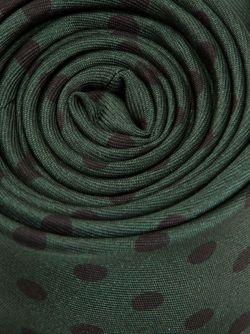 Галстук В Горошек Valentino                                                                                                              зелёный цвет