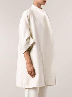 Свободное Пальто TOOGOOD                                                                                                              белый цвет