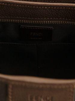 Сумка Через Плечо Zucca Fendi                                                                                                              коричневый цвет