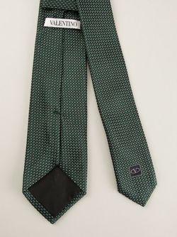 Галстук С Вышивкой Valentino                                                                                                              зелёный цвет