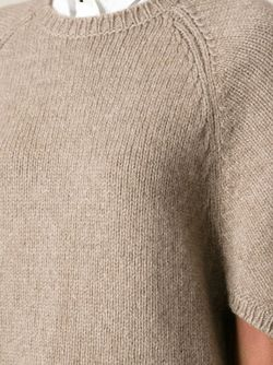 Вязаный Свитер Valentino                                                                                                              Nude & Neutrals цвет