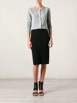 Декорированный Кардиган Donna Diane Von Furstenberg                                                                                                              серый цвет