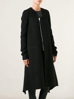 Объёмное Пальто Rick Owens                                                                                                              чёрный цвет