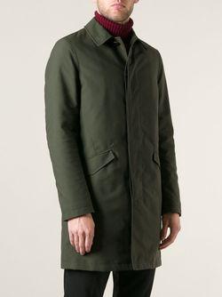 Классический Плащ Etro                                                                                                              зелёный цвет