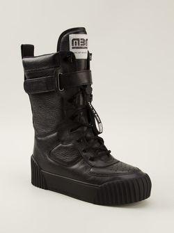 Высокие Кеды Bmx Board Boots Marc by Marc Jacobs                                                                                                              черный цвет