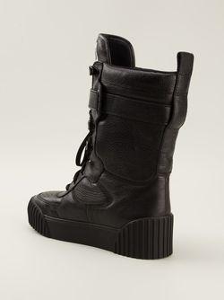 Высокие Кеды Bmx Board Boots Marc by Marc Jacobs                                                                                                              чёрный цвет