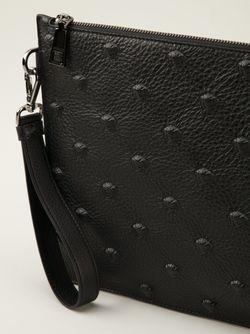 Клатч Versace                                                                                                              черный цвет