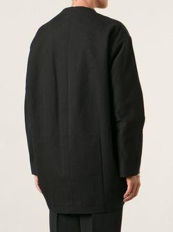 Пальто На Молнии Escultural DUBIÉ                                                                                                              чёрный цвет