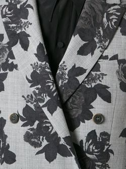 Блейзер С Цветочным Узором MSGM                                                                                                              серый цвет