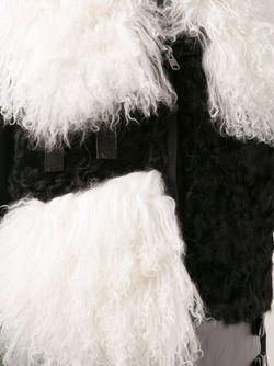 Жилет С Контрастными Панелями Sacai                                                                                                              черный цвет