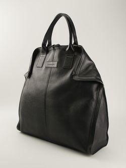 Большая Сумка-Тоут De Manta Alexander McQueen                                                                                                              чёрный цвет
