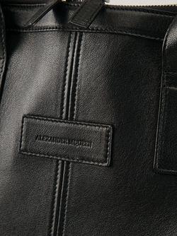 Большая Сумка-Тоут De Manta Alexander McQueen                                                                                                              черный цвет