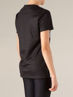 Appliqué Portrait T-Shirt Ports                                                                                                              чёрный цвет