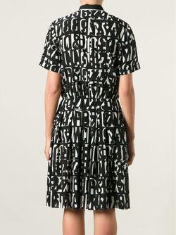 Платье С Принтом Paul Smith Black Label                                                                                                              черный цвет