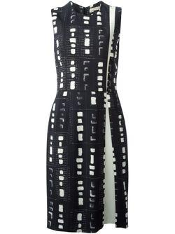 Платье-Футляр С Принтом Etro                                                                                                              чёрный цвет