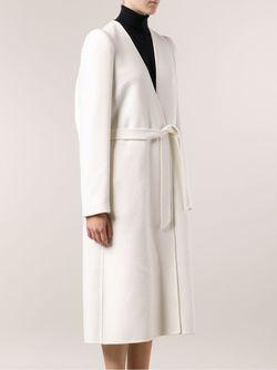 Длинное Пальто Maison Margiela                                                                                                              белый цвет