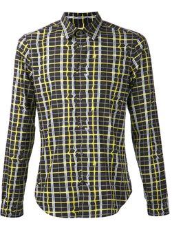Рубашка С Принтом Kenzo                                                                                                              чёрный цвет