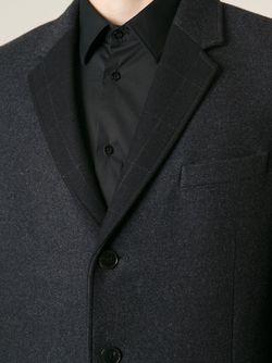 Однобортное Пальто Valentino                                                                                                              серый цвет