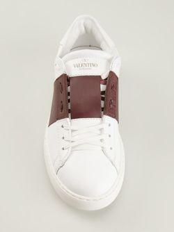 Кеды С Контрастной Панелью Valentino Garavani                                                                                                              белый цвет