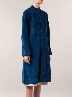Длинное Пальто Dosa                                                                                                              синий цвет