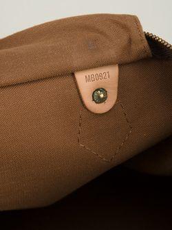 Сумка-Тоут Speedy 40 С Монограммным Принтом LOUIS VUITTON VINTAGE                                                                                                              коричневый цвет