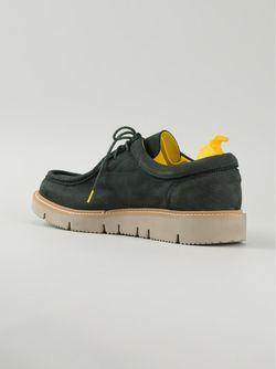 Ботинки На Шнуровке Arrigo Nabuk PULCHRUM                                                                                                              зелёный цвет
