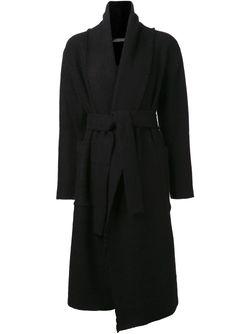 Пальто С Ремнём Denis Colomb                                                                                                              чёрный цвет