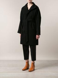 Пальто С Поясом ARTS & SCIENCE                                                                                                              черный цвет
