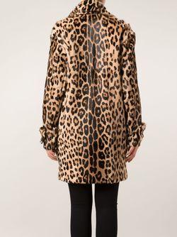 Leopard Print Coat Barbara Bui                                                                                                              Nude & Neutrals цвет