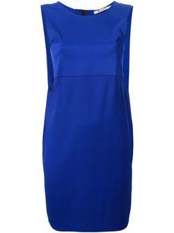 Платье Без Рукавов T By Alexander Wang                                                                                                              синий цвет
